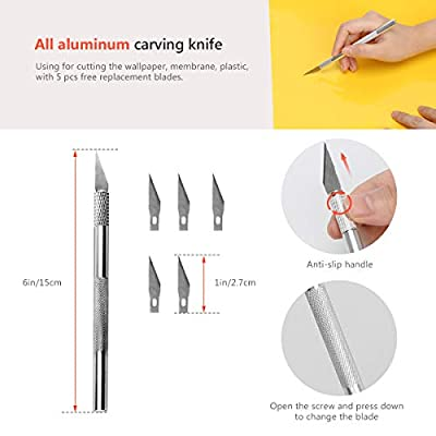 Car Window Tint Application Tools Kit, Luxiv 9 Pcs Vehicle Glass Protective Film Installing Tool Car Window Film Squeegee Automotive Film Scrapers Window Tint Tools (B): Home Improvement