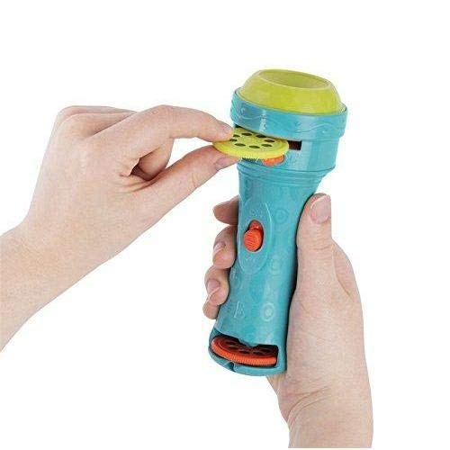 B Toys Light Me to The Moon Projector Flashlight