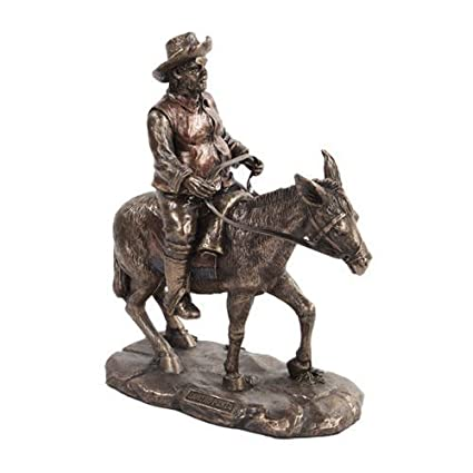 Amazon.com : Sancho Panza Farmer Friar Squire Statue Sculpture Don ...