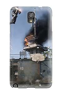 Galaxy Note 3 Call Of Duty Advanced Warfare Print High Quality Tpu Gel Frame Case Cover
