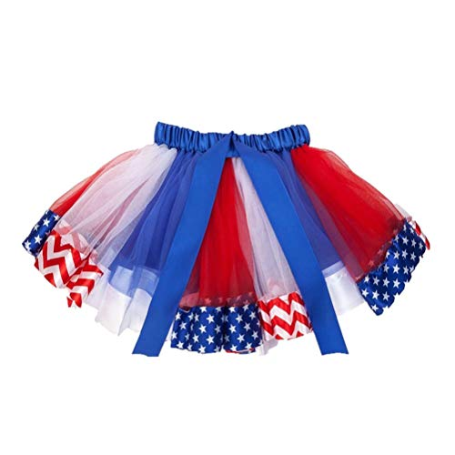 BESTOYARD Kid Dress Up Midiskirt Beautiful Cute Gauze Skirt for Girl Kid Child (L Size, Suitable for 4 to 8 Years Old)