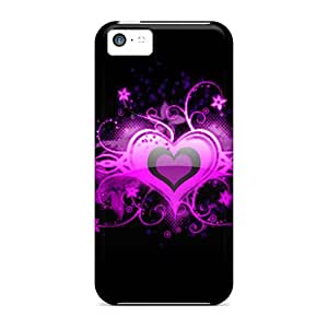 WWh15799fCEZ CalvinDoucet Pink Heart Feeling Iphone 5c On Your Style Birthday Gift Covers Cases