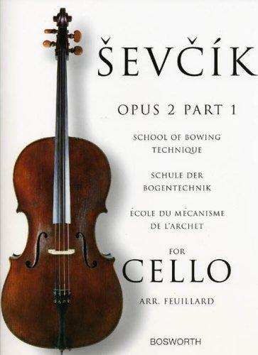 Sevcik Cello Sudies. Opus 2 Part 1. Schule der Bogentechnik (Englisch) Taschenbuch – 6. März 1998 Otakar Sevcik Bosworth Music 0711997160 Geisteswissenschaften