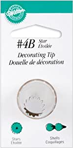 Wilton Decorating Tip, No.4B Star