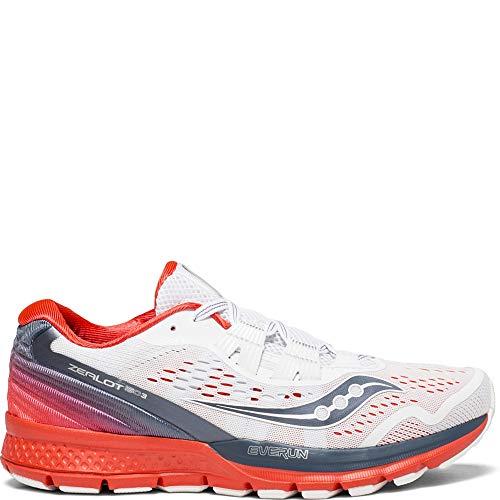 Saucony Shoes Women - Saucony Zealot ISO 3 Women 9 White   Grey   ViZiRed
