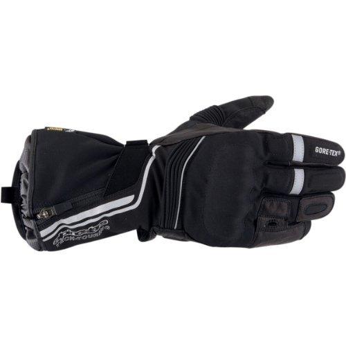 Alpinestars Jet Road Gore-Tex Gloves , Gender: Mens/Unisex, Distinct Name: Black, Primary Color: Black, Size: Sm, Apparel Material: Textile 3522013-10-S by Alpinestars