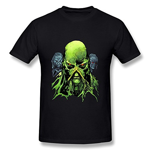 Price comparison product image LOTSHIRT Men's A Plant Elemental Creature Swamp Thing T-shirt Size M Black