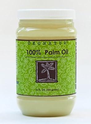 100% Palm Oil - 16 Fl Oz from OKONATUR