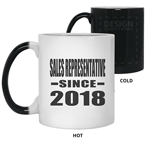 Sales Representative Since 2018-11 Oz Color Changing Mug, He