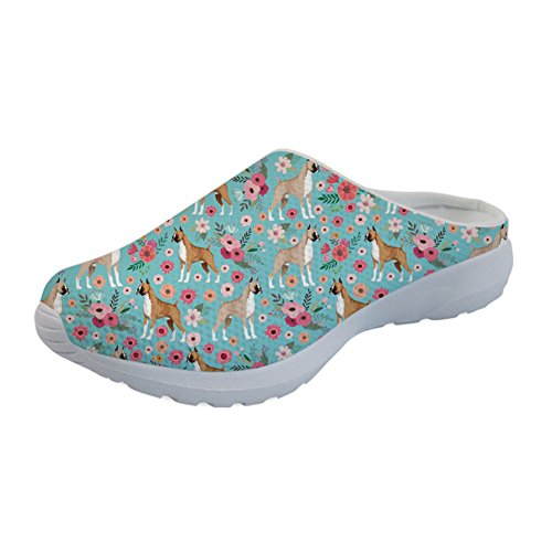 Family Floral Cute Coloranimal Wherever Cartoon Slip Comfy Boxer Chicken Slippers On Sandals PP6w0nqZ