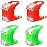 4-Pack Marine Boat Bow Lights, Red and Green Led Navigation Lights Emergency Lights Backup Lights for Boat Pontoon Kayak Yacht Motorboat Vessel Dinghy Catamaran