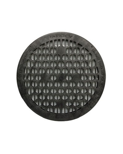 Jackel Drainage Cover (24 Inch Diameter - BLACK) by Jackel