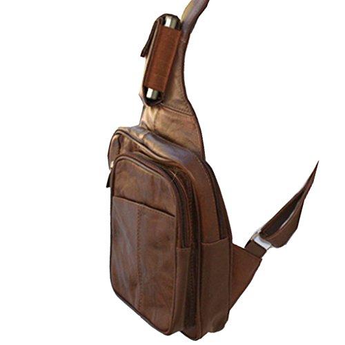 Silver Fever 3611 - Bolso mochila  para mujer multicolor multicolor mediano marrón