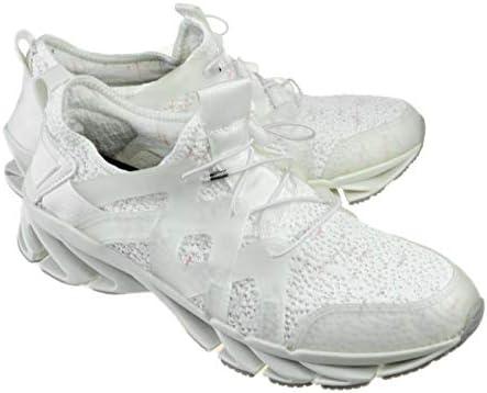 スニーカー レースアップシューズ レースアップスニーカー ランニングシューズ ウォーキングシューズ メッシュ 変形ソール メンズ [ S1130 ] 42(26.0cm) ホワイト 白