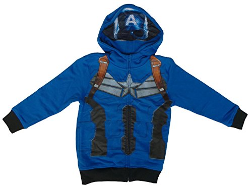 kids captain america jacket - 6