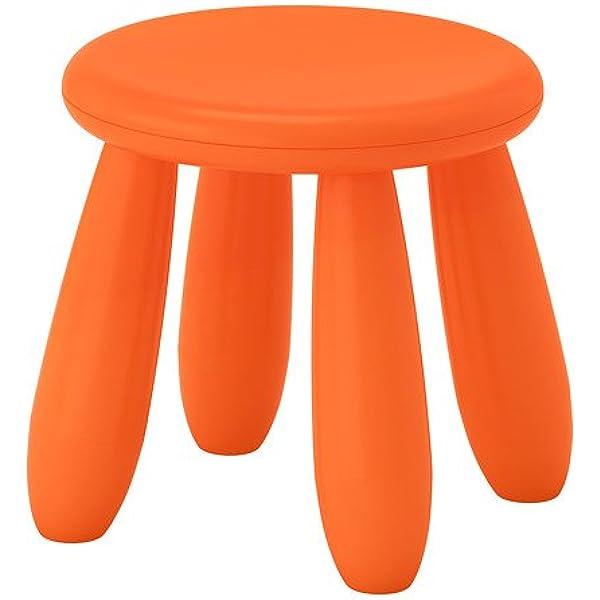 I K E A Sweden IKEA Mammut Niños Taburete en Naranja; para ...