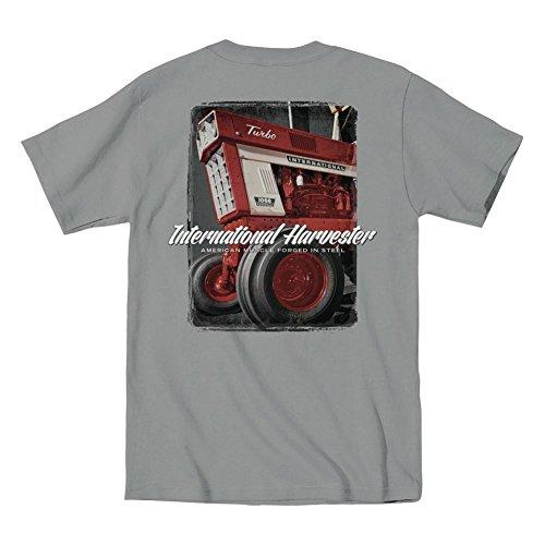 Harvester Farm - IH American Muscle Turbo International Harvester Farm Tractor Country Mens Shirt