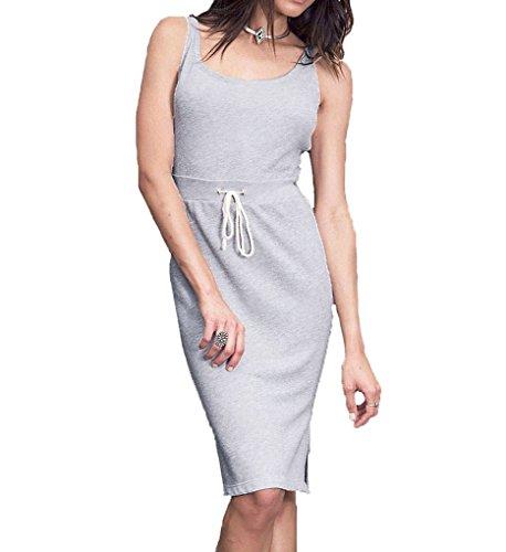Cosabella Dress (Cosabella CSBLA Dakota Tank Dress (DAK7521) L/Heather Grey)