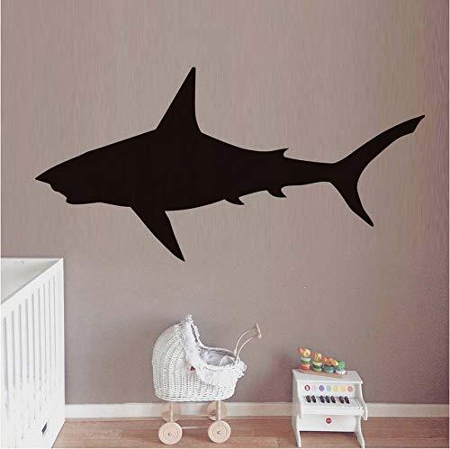 Fyyanm Gran Tiburón Pegatinas de Pared Extraíble Vinilo Silueta ...