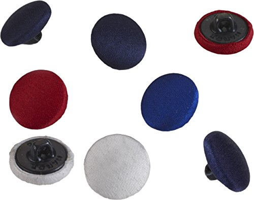 (Pearl 24 Count Satin Covered Buttons, 5/8