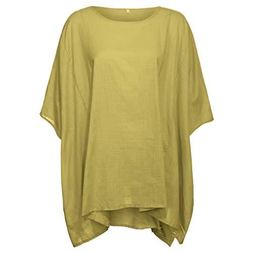 Beikoard Camisetas de Talla Grande para Mujer Camisetas de Tallas Grandes Mujer Chaleco Sin Mangas Chaleco Mujer Largo Invierno