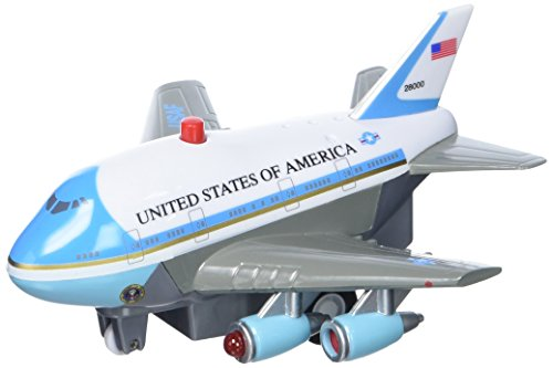 (Daron Air Force One Pullback Plane with Light and Sound)