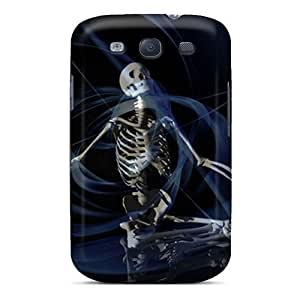 High Quality XTWyxhq4291lAGVV Skeleton Tpu Case For Galaxy S3