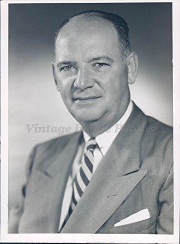 - 1955 Photo Carl P Quanz Vice President Bridgeport Brass Company Manager Plant