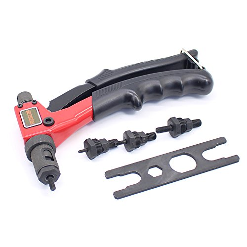 - JKIJOOJH Hand Riveter Manual Rivets Nut Gun Handle Screw Gun Riveting Tools