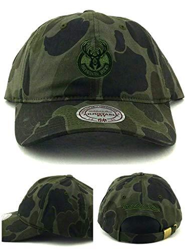 76fbd0250ac60 Milwaukee Bucks Camouflage Caps. Mitchell   Ness ...