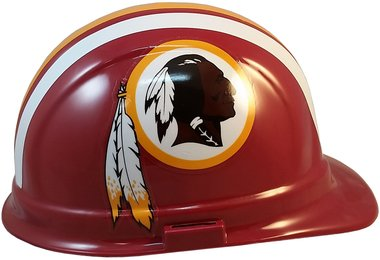 4272f652f Amazon.com   Texas American Safety Company NFL Washington Redskins Hard Hats  with Ratchet Suspension   Sports   Outdoors
