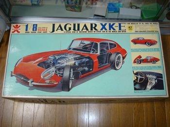 旧バンダイマーク 1/8 GTシリーズ ジャガーXK-E 絶版
