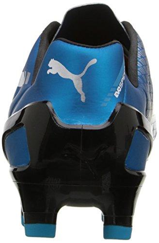 Puma Evospeed 2.3 Firma de zapatos de fútbol de tierra Hawaiian Ocean / White / Black