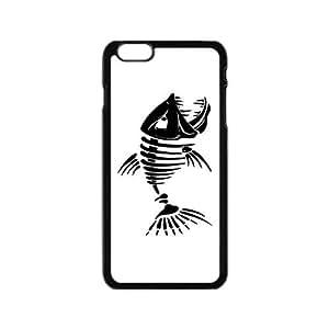 """Custom Fishbone Design Plastic Case Protector For iPhone6 4.7"""""""