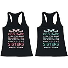 Cute Best Friend Quote Tank Tops - BFF Matching Tanks