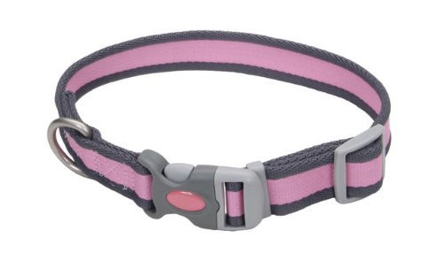 12622 14 Pwg 3 4 Pro Collar Pink With Grey by Coastal Pet