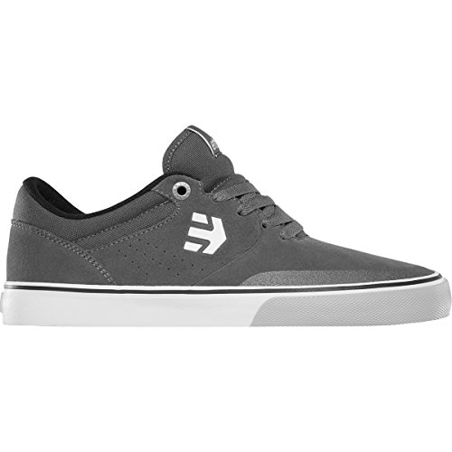 Etnies Mens Marana Vulc Shoes Size 12 Grey/Black/White