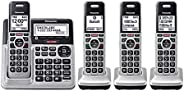 Panasonic KX-TG994 DECT 6.0 Bluetooth 4 auriculares paquete