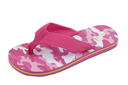 Sunville Starbay Kid's Slip-On Flip Flop Pink 11 M US Little Kid