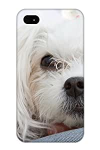 Fashion Case For Iphone 4/4s- Animal Dog Defender Case Cover For Lovers