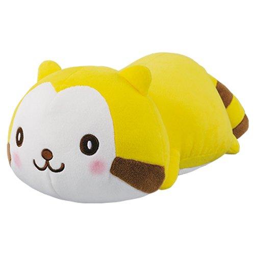 Banpresto 36763 Dararikuma Rascal The Raccoon Lying Down Stuffed Plush, 5