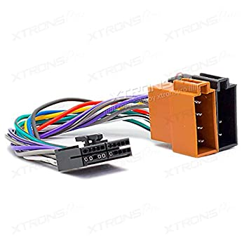 41X4FFoFXJL._SY355_ xtronspro audiovox 20 pin car stereo radio iso(f) wiring harness harness wire for car stereo at metegol.co