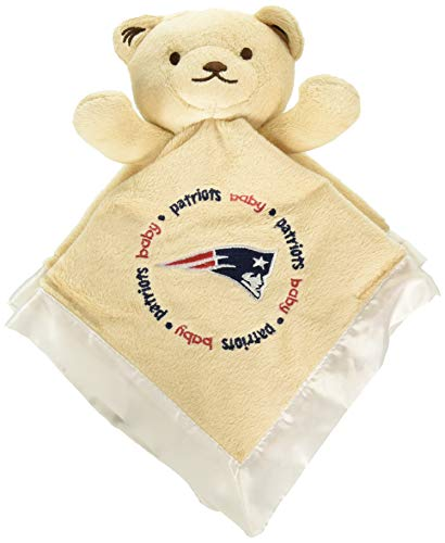 Blanket New Patriots England Soft (Baby Fanatic Security Bear - New England Patriots Team Colors)