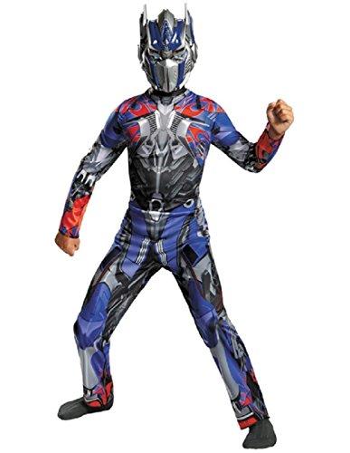 Disguise Hasbro Transformers Age of Extinction Movie Optimus Prime Classic Boys Costume, (Optimus Prime Movie)