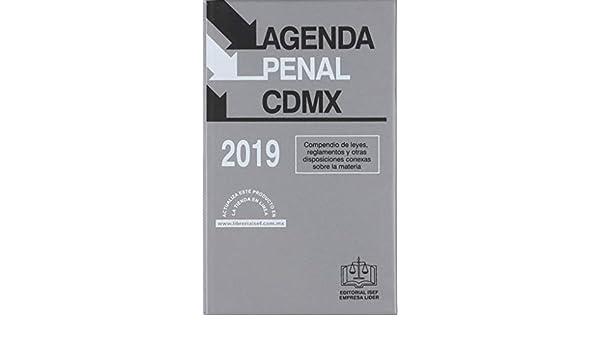 AGENDA PENAL DE LA CUIDAD DE MEXICO 2019: EDICIONES FISCALES ...