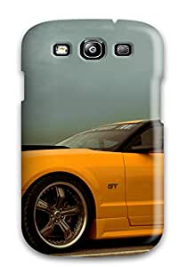 Awesome Mustang Flip Case With Fashion Design For Galaxy S3
