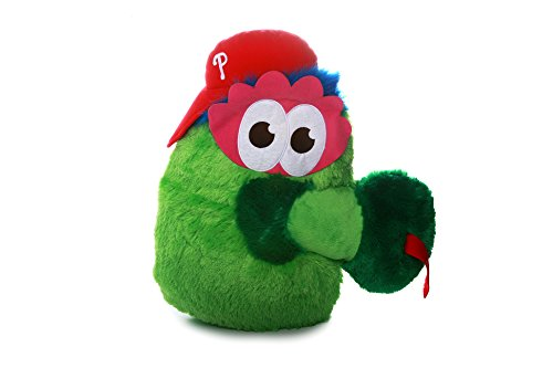MLB Philadelphia Phillies Nogginz Plush Toy, Medium, White (Philadelphia Phillies Plush)