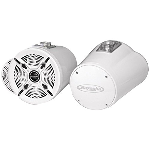 Bazooka MT8100W 8 Marine Speaker Tubbie White 150W Single Ended Consumer Electronics