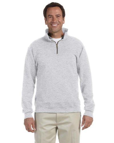 Jerzees - SUPER SWEATS Quarter-Zip Cadet Collar Sweatshirt -