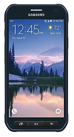 Samsung Galaxy S6 Active G890A 32GB Unlocked GSM 4G LTE Octa-Core Smartphone w/ 16MP Camera - Camo Blue (Certified (Unlocked Samsung S6)